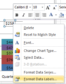 Format Data Labels