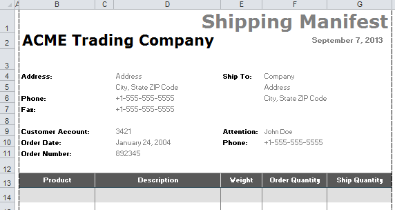 repair orders template