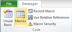 Developer Macros