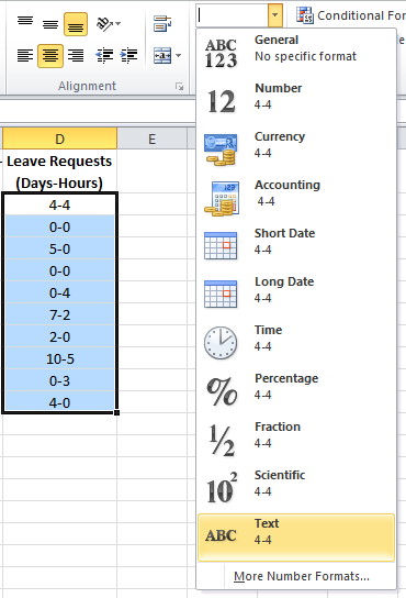 Alternate Notation: Converting Hours to Days-Hours - Excel Tactics